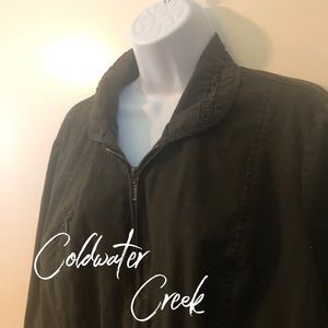 Coldwater Creek, 20 - 22, Army Green Jacket